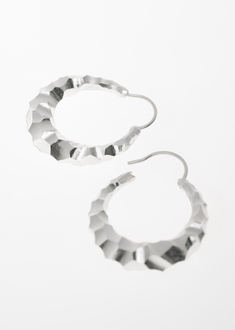 Snake earrings large thick