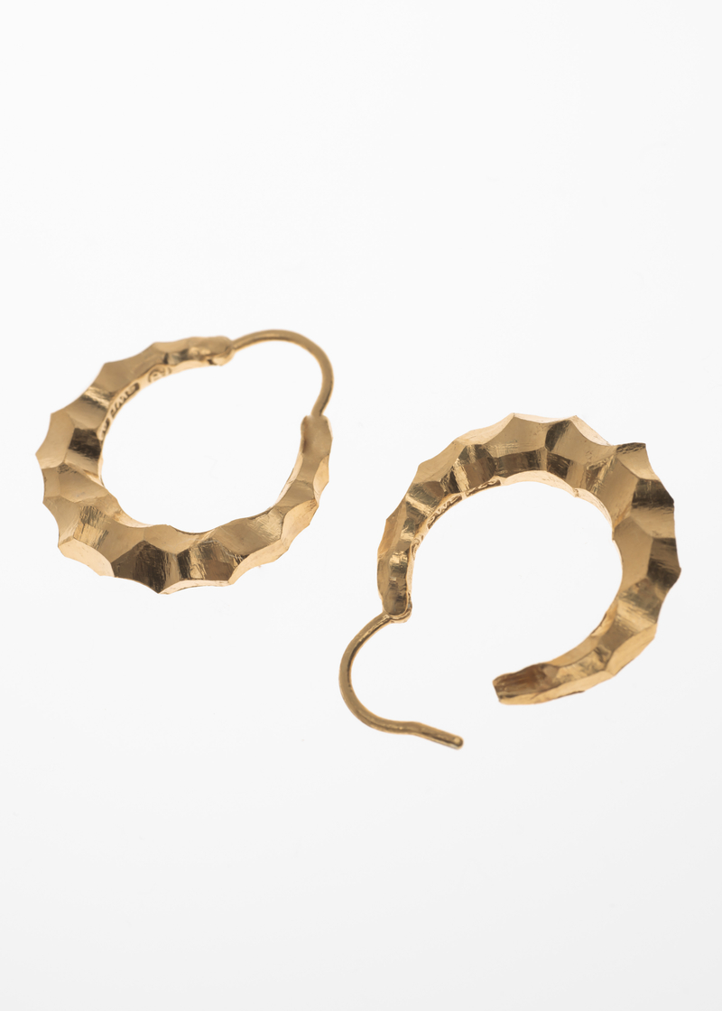 Snake earrings small thick