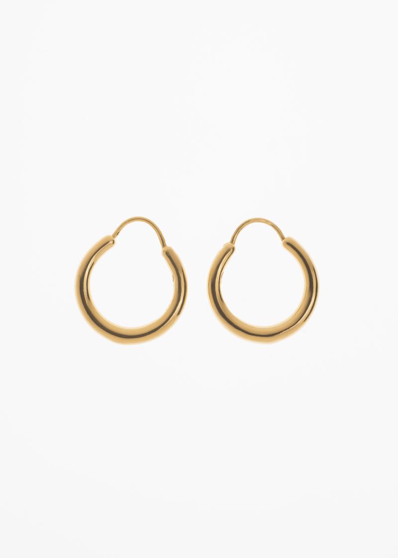 Snake earrings small thin