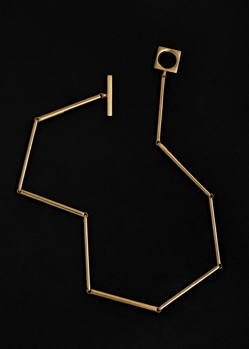 10 necklace cylinder 42cm