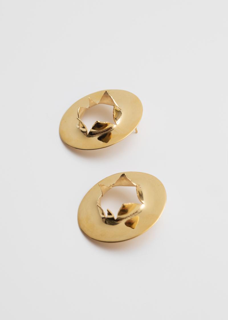 Bullet Hole earrings